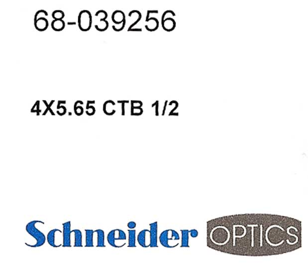 Schneider Optics Sings the Blues 4