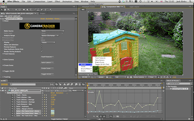 Foundry Releases CameraTracker and Kronos 5.0 Plug-ins for After Effects 4
