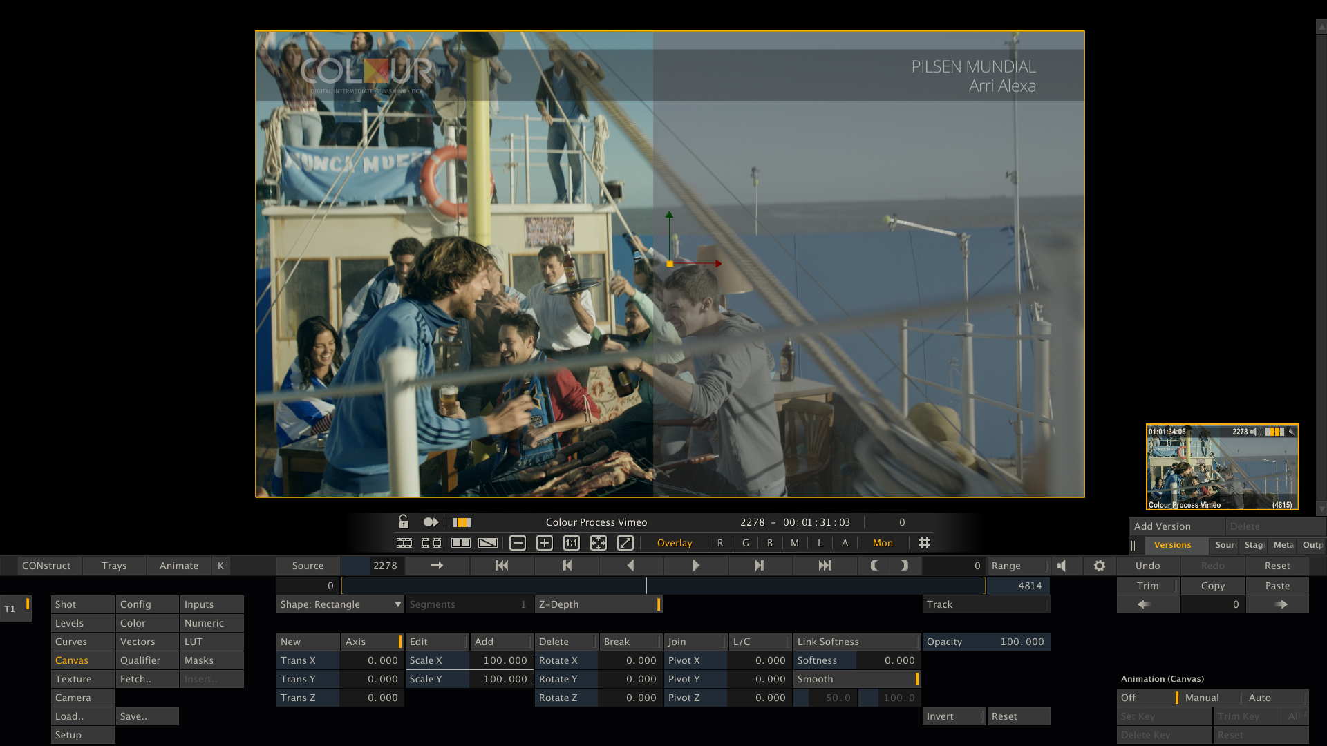 Colour Studio Uruguay Shoots and Scores in Post Production 14