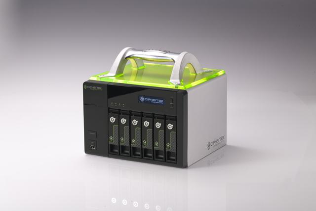 Ciphertex Debuts Portable, Secure NAS Server at NAB 4