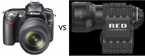 Nikon D90 vs Red's Scarlet - Specdown! 4