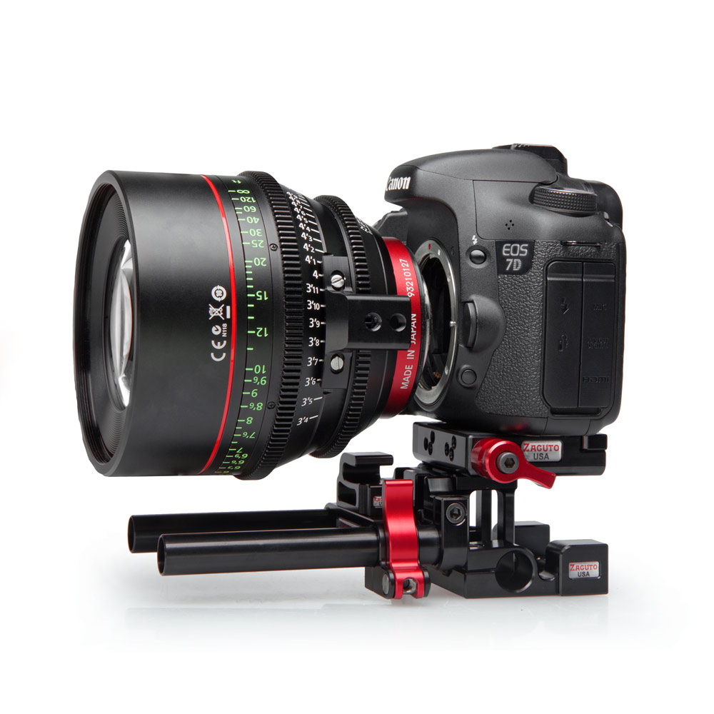 Zacuto Introduces New Lens Supports For Canon And Zeiss Lenses On DSLRs 3