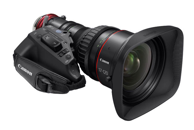 Canon Launches New 17-120 Cine-Servo Lens 12