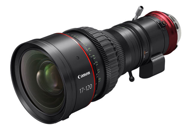 Canon Launches New 17-120 Cine-Servo Lens 13