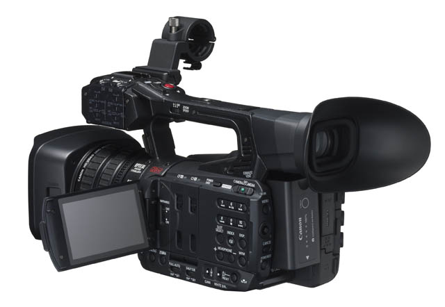 Canon Unveils XF200 & XF205 Professional Camcorders 12