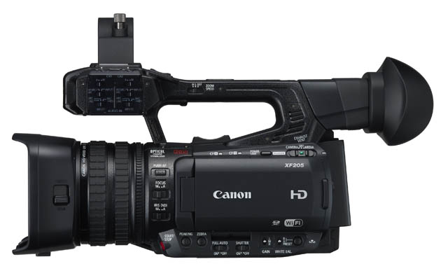Canon Unveils XF200 & XF205 Professional Camcorders 13