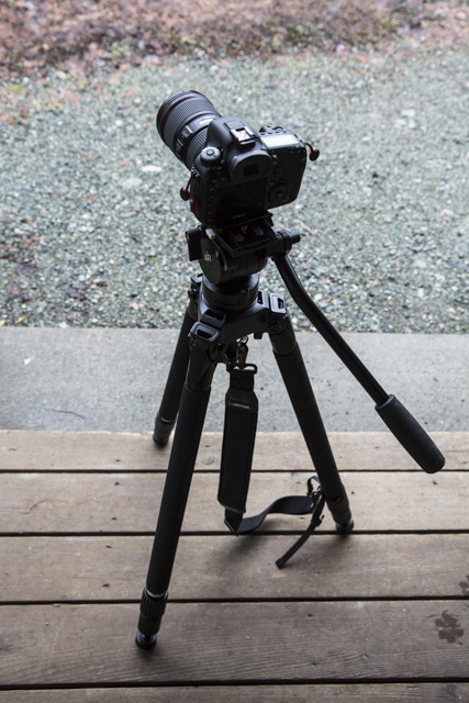 Miller Air Carbon Fiber Tripod System Review 37