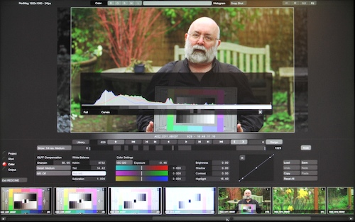 Working with RED Footage 9