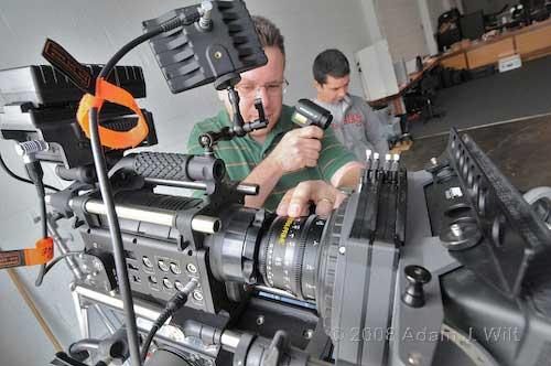Pix: Zacuto rig; RED tests 25