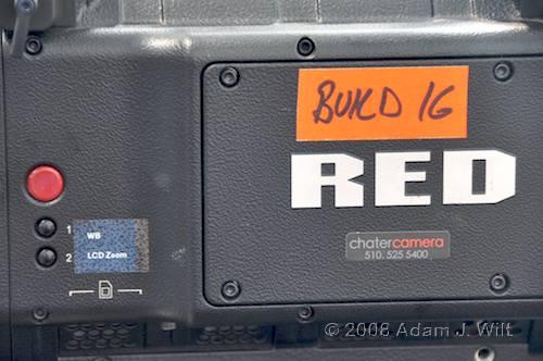Quick look: RED Build 16 14