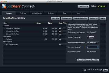 EditShare Releases Shared Storage Version 7 4
