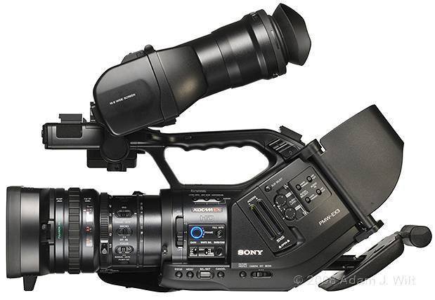 "Review: Sony PMW-EX3 Removable-lens 1/2"" 3-CMOS HD Camcorder 50"