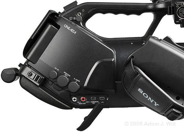 "Review: Sony PMW-EX3 Removable-lens 1/2"" 3-CMOS HD Camcorder 65"