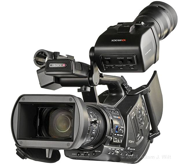 "Review: Sony PMW-EX3 Removable-lens 1/2"" 3-CMOS HD Camcorder 47"