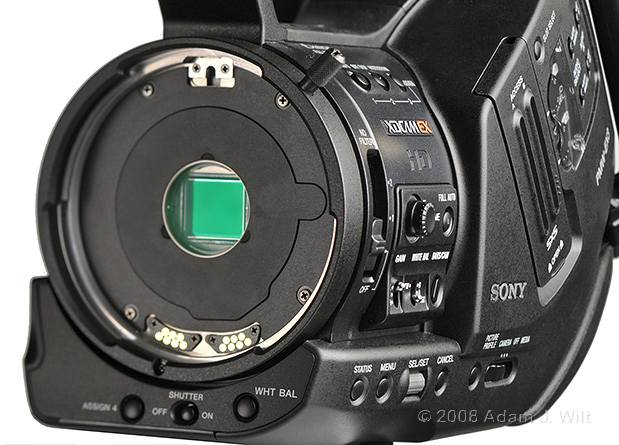 "Review: Sony PMW-EX3 Removable-lens 1/2"" 3-CMOS HD Camcorder 56"