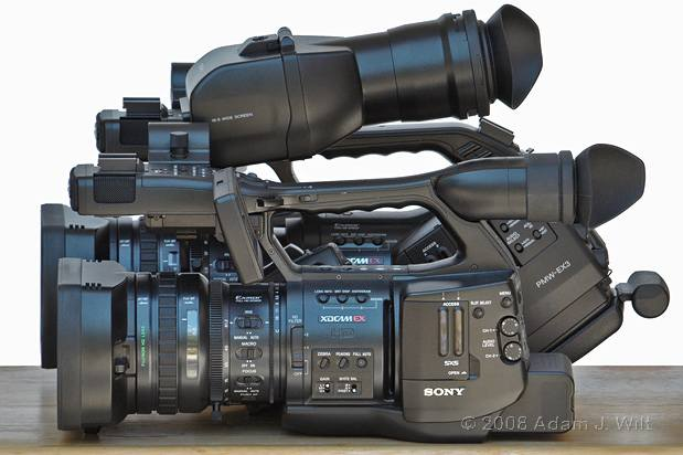 "Review: Sony PMW-EX3 Removable-lens 1/2"" 3-CMOS HD Camcorder 49"