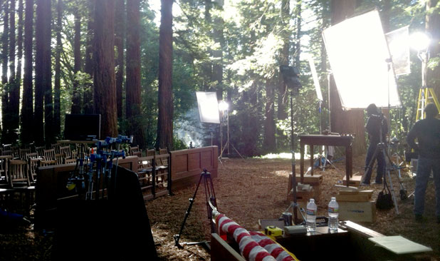 BEHIND THE SCENES: Smoke in the Woods with the Canon 5D 40