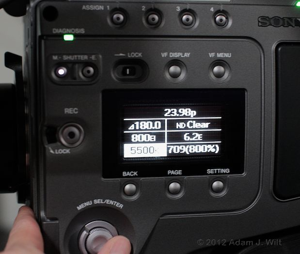 Quick Look: Sony F65 4K Digital Cine Camera 67