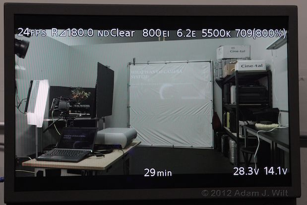 Quick Look: Sony F65 4K Digital Cine Camera 76