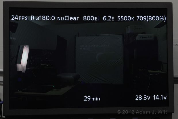 Quick Look: Sony F65 4K Digital Cine Camera 77