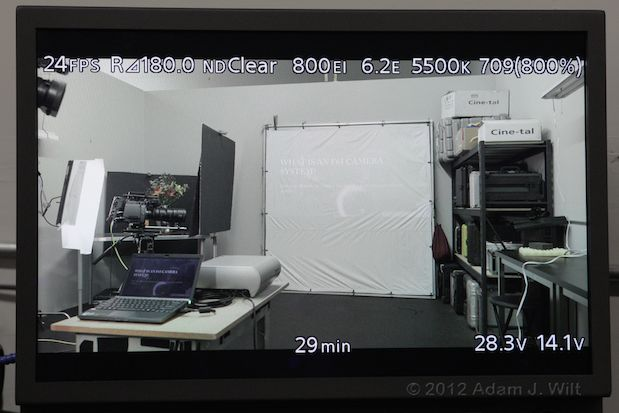 Quick Look: Sony F65 4K Digital Cine Camera 78