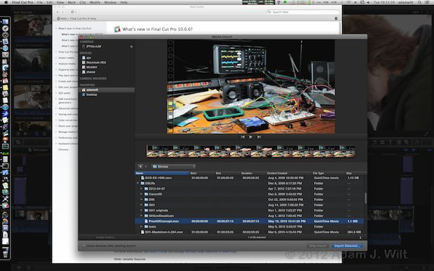 Quick Test: FCPX 10.0.6 23