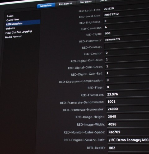 New workflow options for Red announced from Apple, Adobe, & Avid 9