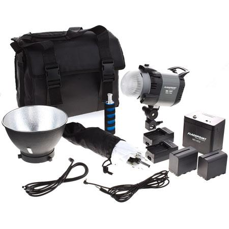 Adorama Introduces the Flashpoint 180 Monolight and Battery Kit 4