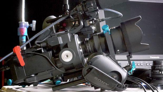FS700 handheld rig