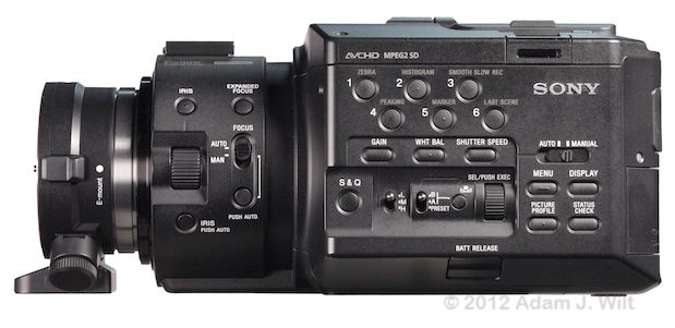 Quick Look: Alpha A-mount Lenses on the FS100 45