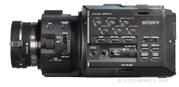 Quick Look: Alpha A-mount Lenses on the FS100 44