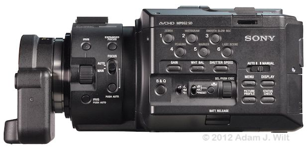 Quick Look: Alpha A-mount Lenses on the FS100 46