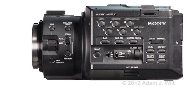 Quick Look: Alpha A-mount Lenses on the FS100 43