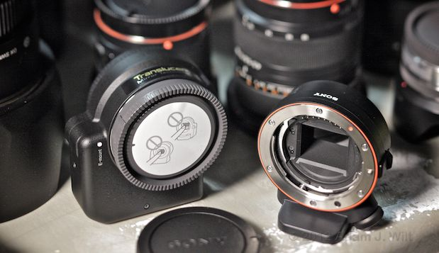 Quick Look: Alpha A-mount Lenses on the FS100 by Adam Wilt