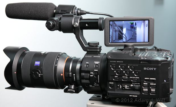 Quick Look: Alpha A-mount Lenses on the FS100 53