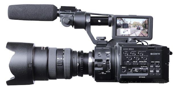 Review: Sony NEX-FS100