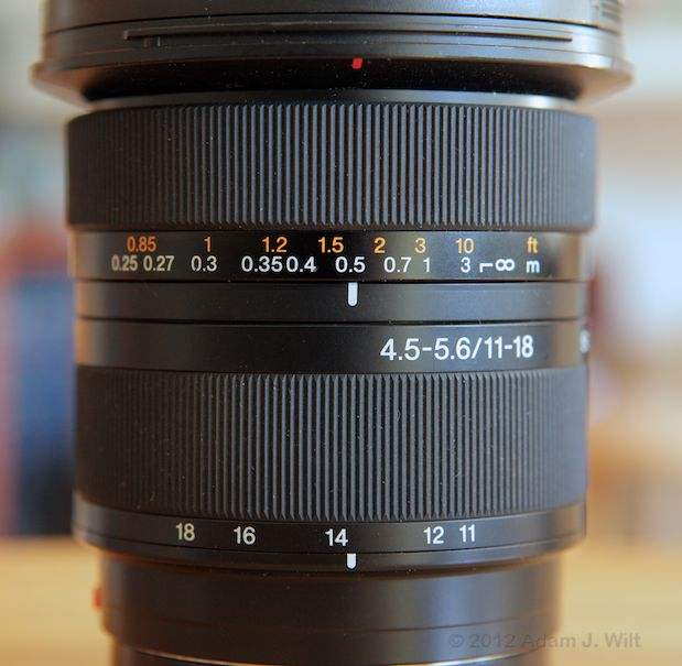 Quick Look: Alpha A-mount Lenses on the FS100 48
