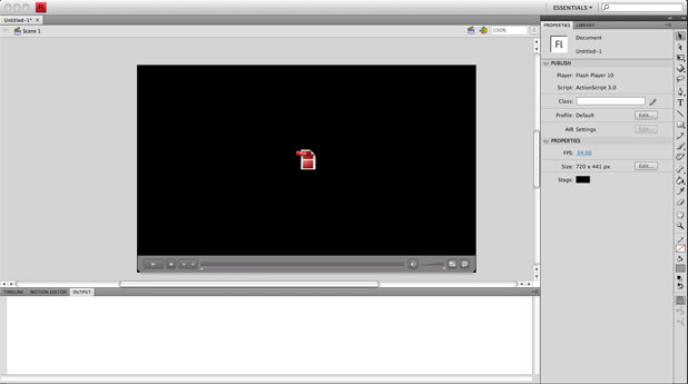 ADHD Guide to Flash Video for the Web 41