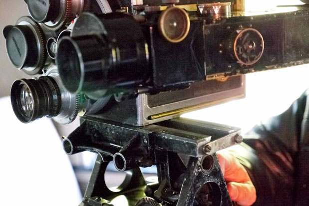CAMERAS: Focusing and Setting Parallax on a 90-year-old Camera 19