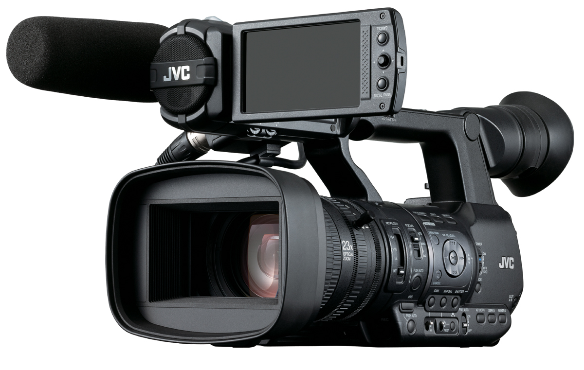 JVC GY-HM650 2.0 Upgraded ProHD Handheld News Camera Delivers Live HD Transmission 4