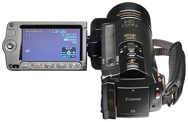 Review: Canon Vixia HF11 AVCHD camcorder 30