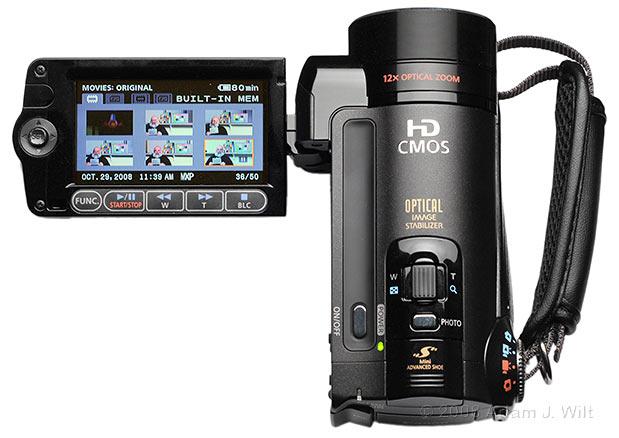 Review: Canon Vixia HF11 AVCHD camcorder 37