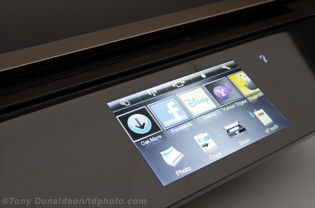 HP Envy 110 e-all-in-one wireless wi-fi printer fax scanner review Prophotocoalition.com touch screen