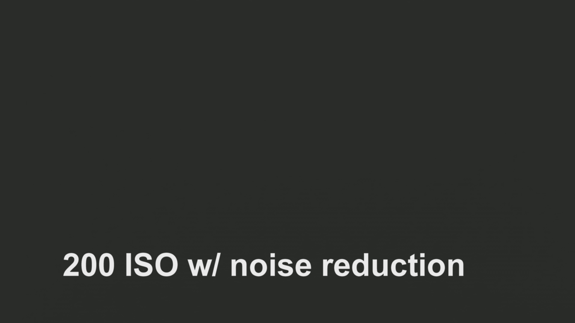 Blackmagic Production Camera Noise Test 8