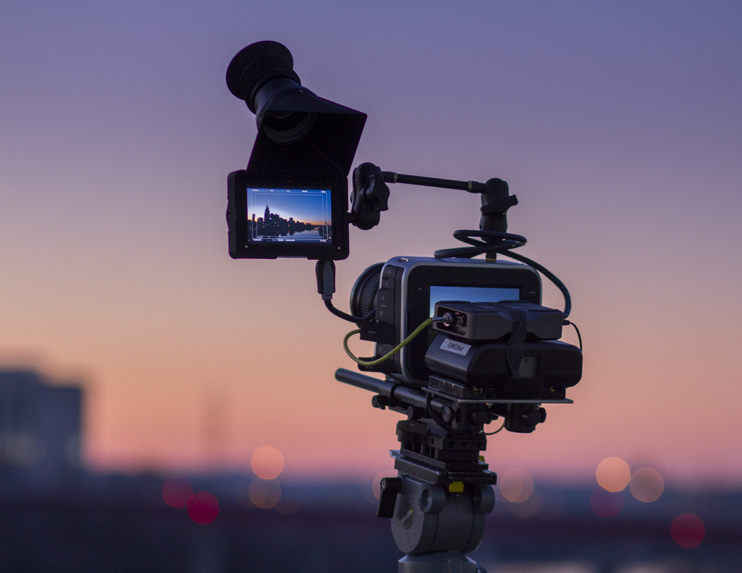 "Blackmagic Production Camera Gets A New ""Heads Up Display"" 9"
