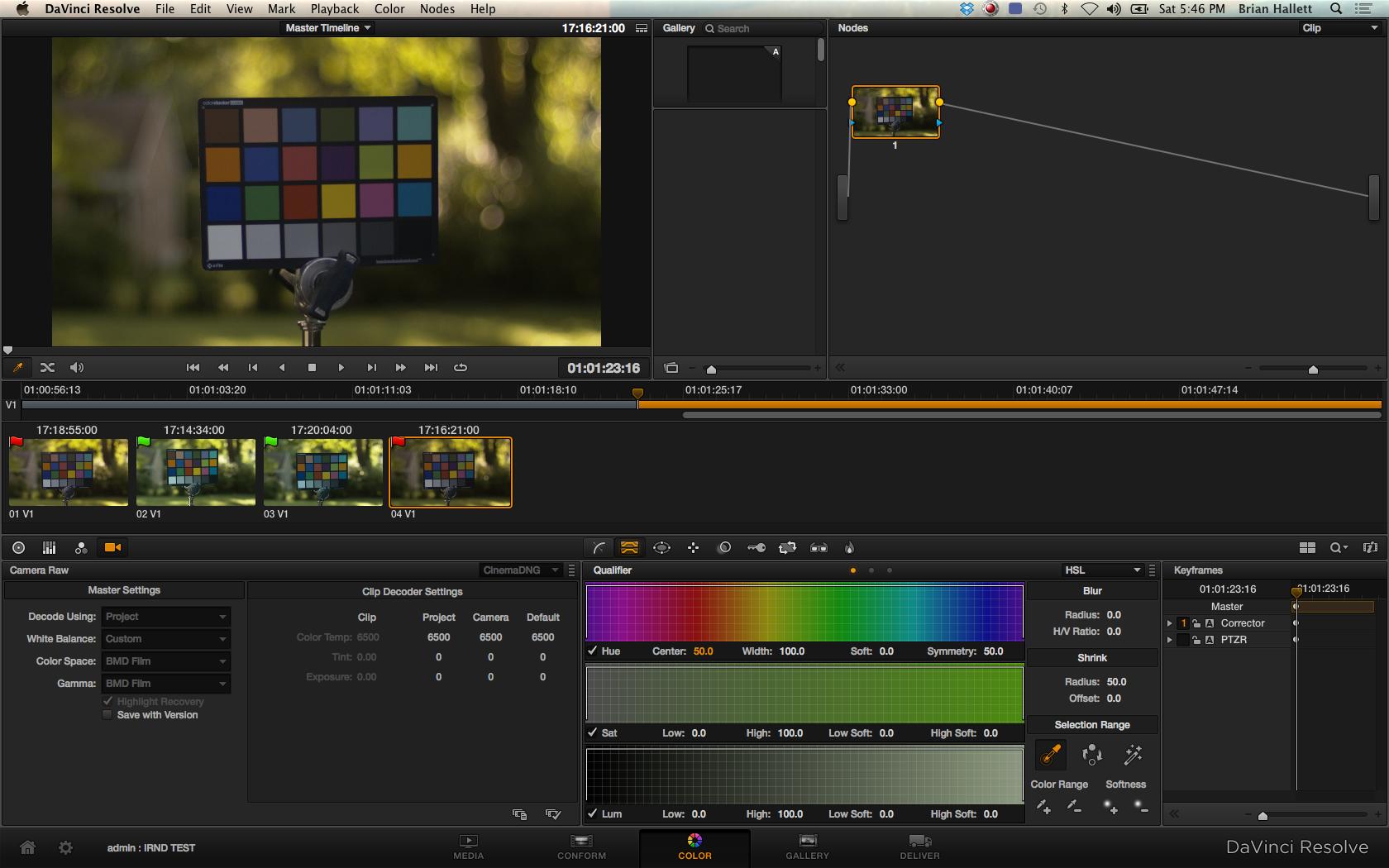 Blackmagic Cinema Camera Post Work-Flow 8