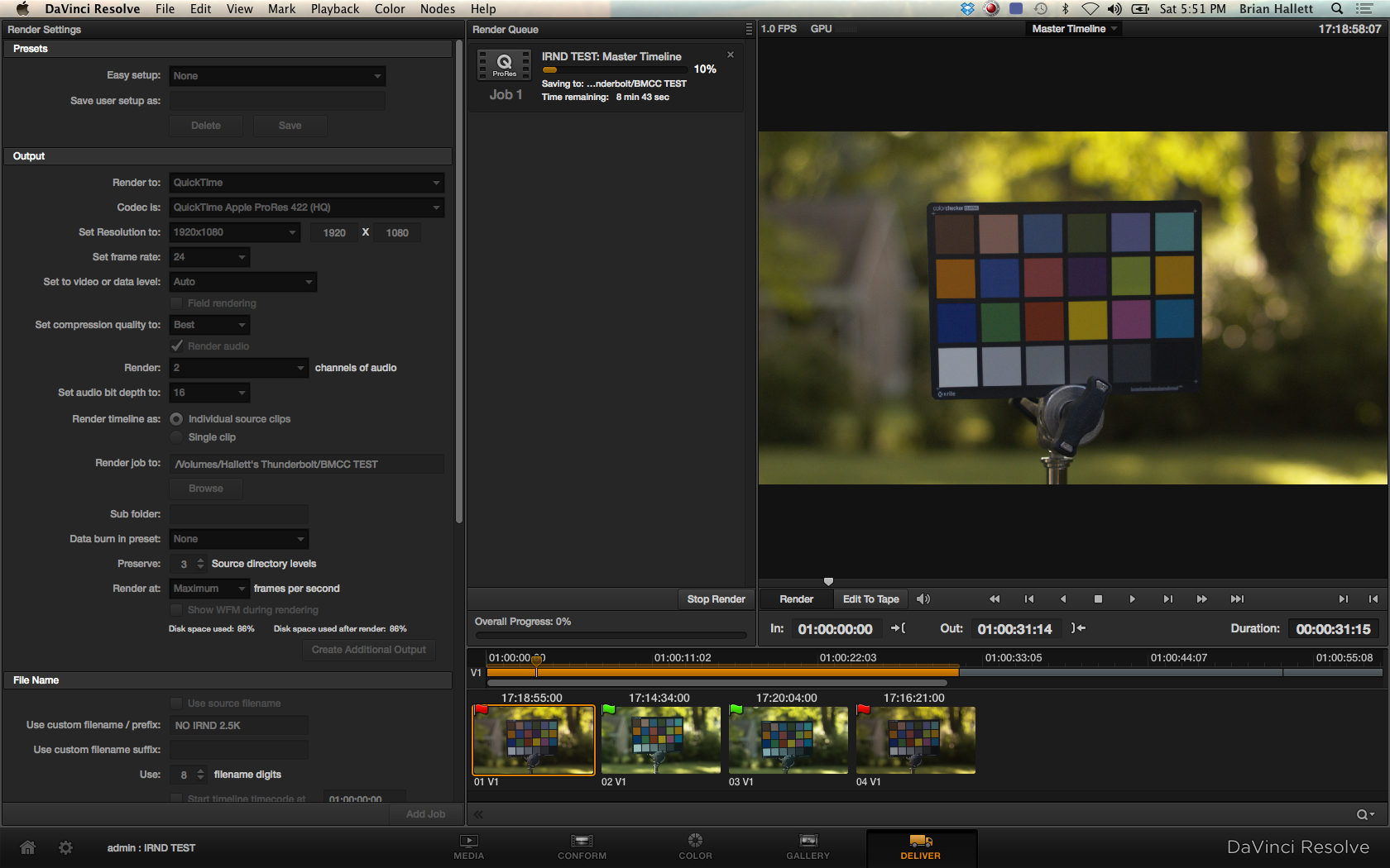 Blackmagic Cinema Camera Post Work-Flow 9