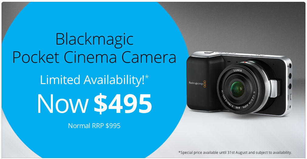 Half-Priced Pocket Cinema Camera 6