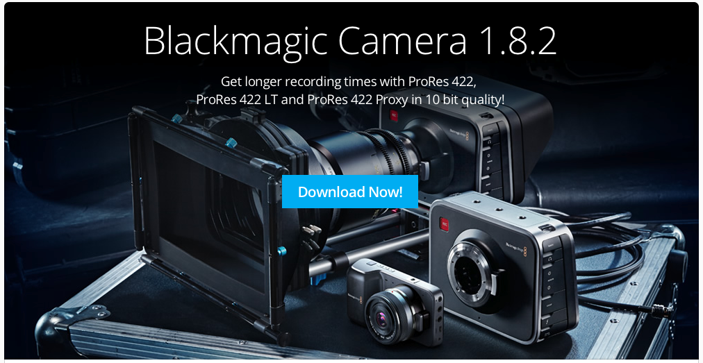 Blackmagic Adds New ProRes Options To Their Cameras 7
