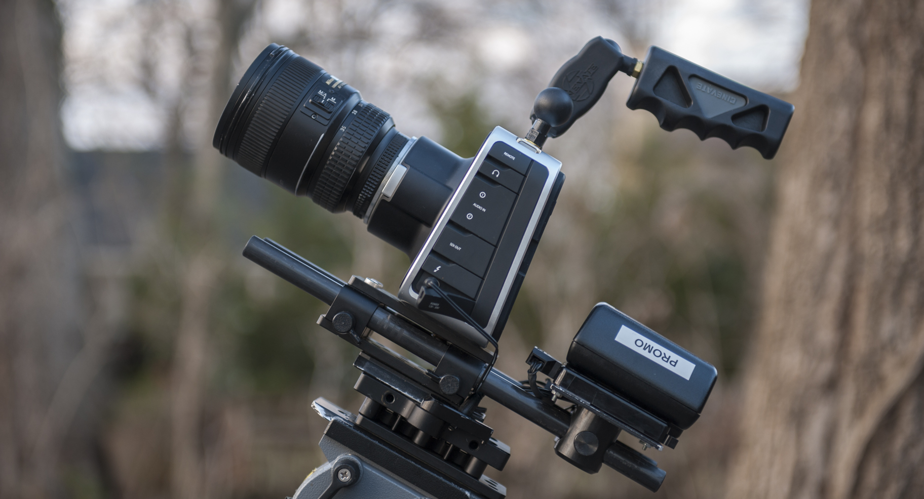 Blackmagic Cameras and Adapting Lenses To Fit 13